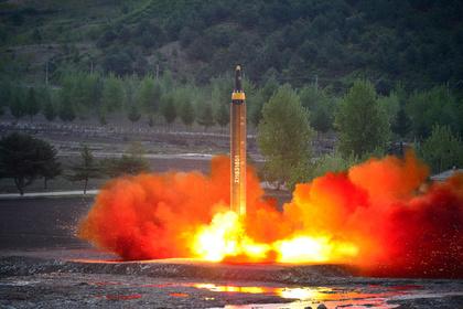 В КНДР засекли новый ракетный пуск