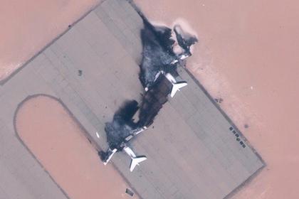 Уничтоженные украинские Ил-76 показали из космоса