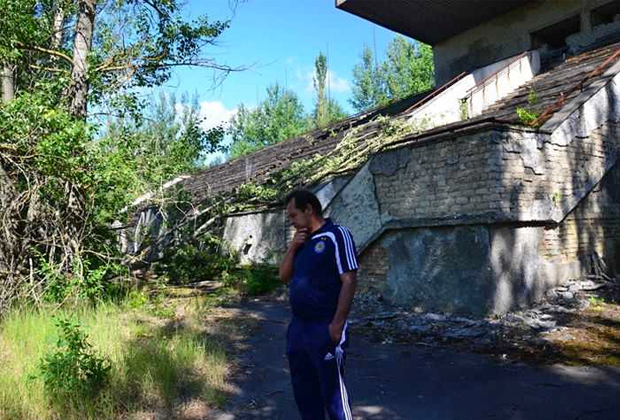 Стадион «Авангард» в Припяти