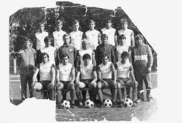 Футбольная команда «Строитель» Припять