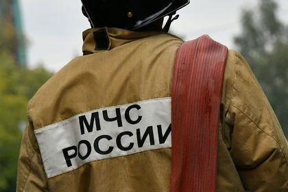 Крупный пожар случился в центре Москвы