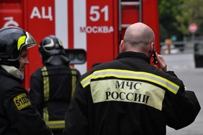 Названы возможные причины крупного пожара в центре Москвы