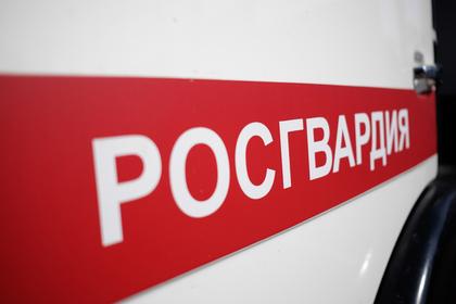 Боец Росгвардии пострадал на несогласованной акции в центре Москвы