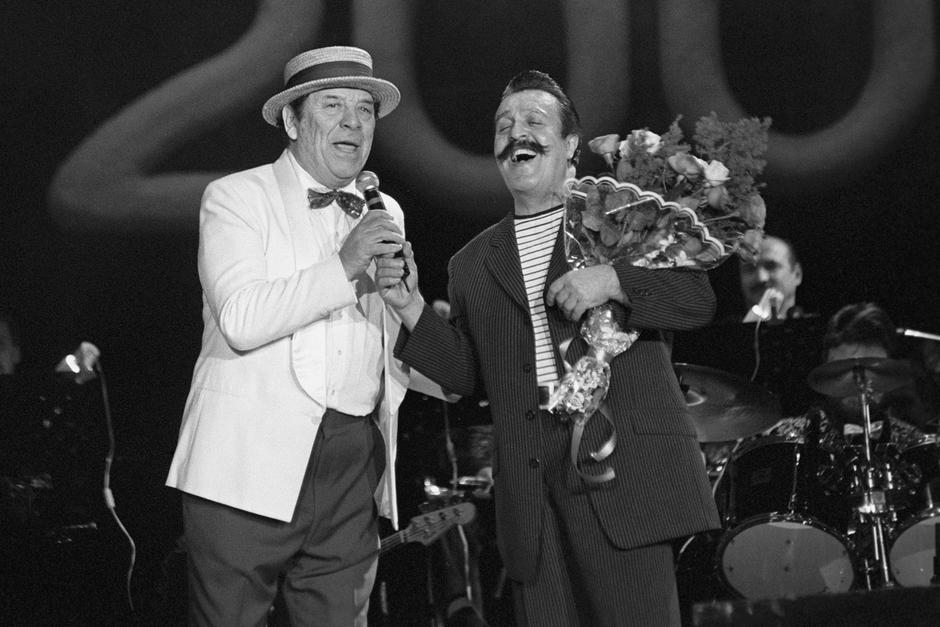 23 декабря 2000 года, Вилли Токарев на первом Международном фестивале «Звездная пурга».