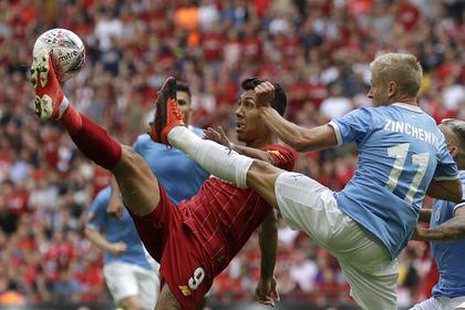 «Манчестер Сити» стал обладателем Суперкубка Англии