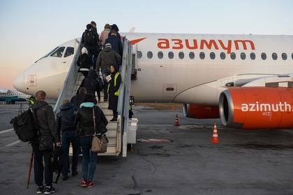 SSJ-100 разгерметизировался в середине полета и экстренно сел в Минводах