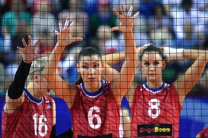 Российские волейболистки пробились на Олимпиаду