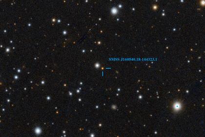 Найдена звезда с невероятными свойствами