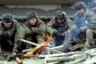 9 января 2000 года отряды боевиков нанесли контрудар, заняв ключевые административные здания в Аргуне, Шали и Гудермесе. Бои за эти населенные пункты продолжались в течение двух дней, после чего боевики отошли в горы.