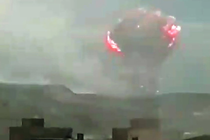 Взрыв на российском военном складе сравнили с падением атомной бомбы