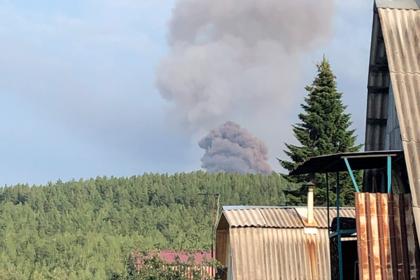 Стало известно о первой жертве взрывов на складе боеприпасов в Красноярском крае