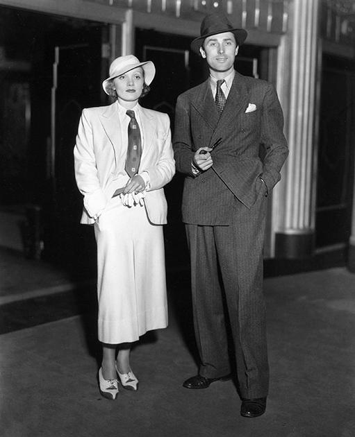 Marlene Dietrich - 1933 Marlene Dietrich, Brian Aherne 1933