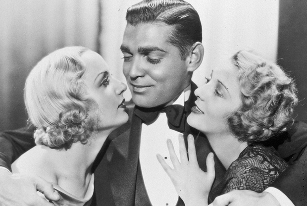 FILM STILLS OF 'NO MAN OF HER OWN' WITH 1932, CLARK GABLE, CAROLE LOMBARD, DOROTHY MACKAILL, WESLEY RUGGLES IN 1932 1932