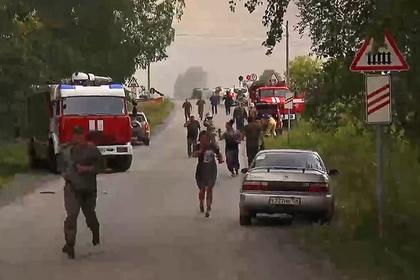 В Красноярском крае сняли режим ЧС после взрыва на складе боеприпасов