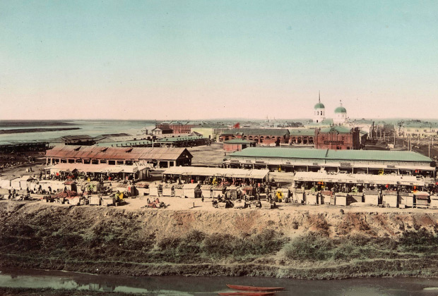 Томский рынок в начале XX века