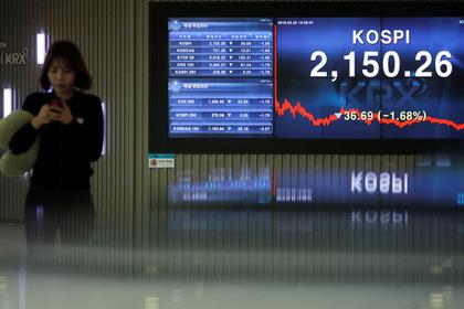 Южная Корея стала худшей из лучших по ценным бумагам
