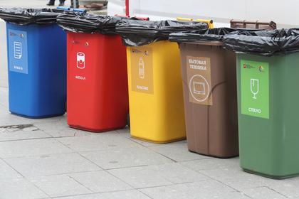 В Подмосковье увеличилось число площадок для раздельного сбора отходов