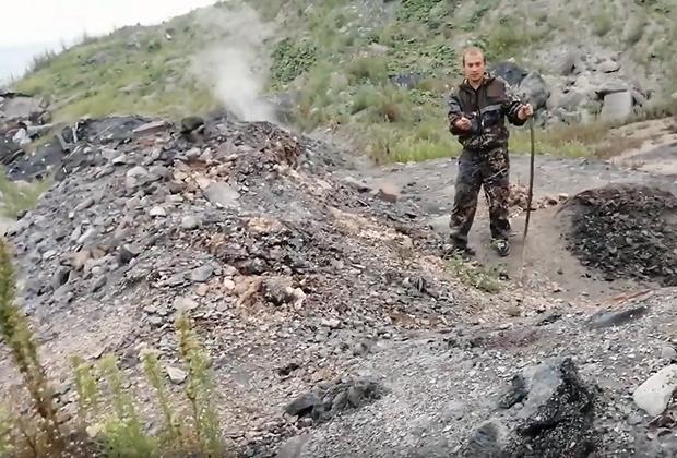 Очаги подземного горения в Киселевске