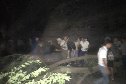 Начался второй штурм резиденции Атамбаева