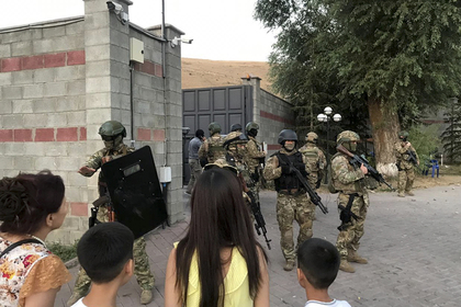 Определено число участников столкновений в Киргизии