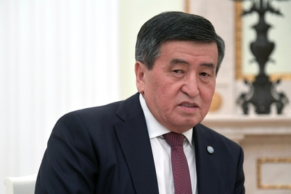 Президент Киргизии оценил действия Атамбаева при штурме