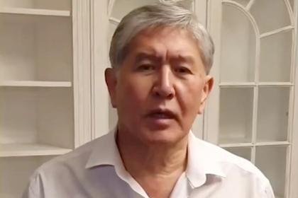 Атамбаев рассказал о своем участии в отражении штурма