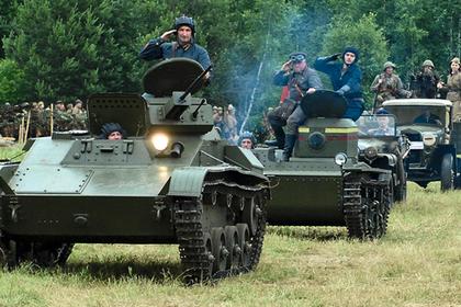 Военно-патриотический слет «Моторы войны» стартовал в Черноголовке