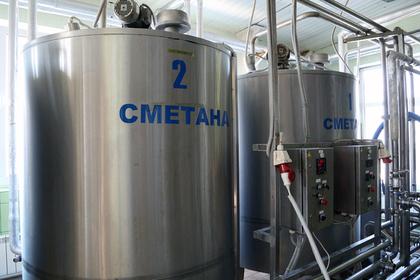 Российская компания начнет производить сметану в Китае