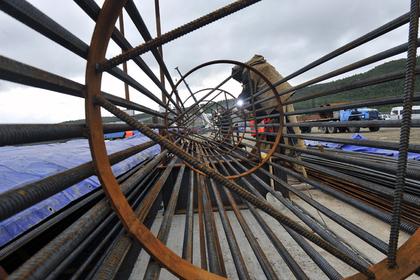 Строительство железнодорожной ветки Мурманского узла выполнили почти наполовину