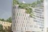 Еще один финалист WAF — необычный жилой дом в Тиране, столице Албании. Неправильные формы, зеленый фасад, малое количество этажей — все это идет вразрез с представлениями о типичной албанской застройке. Автор проекта — итальянское бюро Mario Cucinella Architects.<br><br>Албания в последние годы бурно развивается и переживает строительный бум. Основной объем строительства, что логично, сосредоточен в приморских городах — Саранде, Влере и Дурресе. Местное жилье активно покупают в том числе россияне — в Албании дешевле, чем в соседней Черногории.