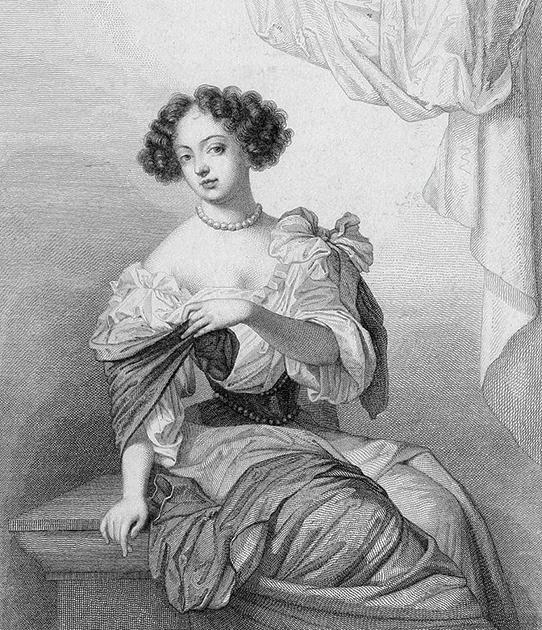 Анжелика де Фонтанж была фавориткой короля всего два года и умерла, не выдержав расставания, в возрасте 20 лет. Портрет-миниатюра работы Жана Петито