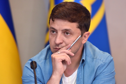 Российской журналистке запретили подходить к Зеленскому