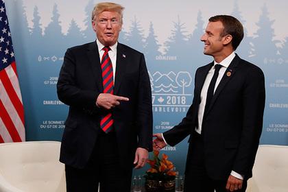 Трамп раскритиковал Макрона за переговоры с Ираном