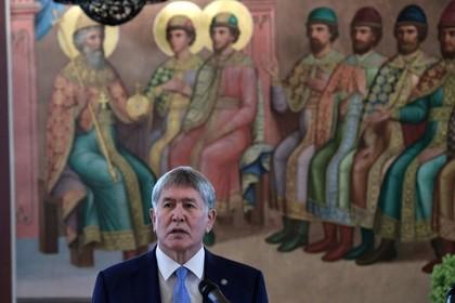 Атамбаеву предъявили обвинения