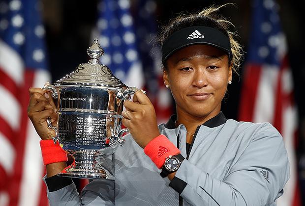US Open-2018. Церемония награждения. Наоми Осака
