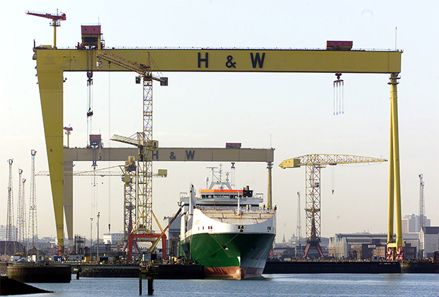 Краны на Harland and Wolff