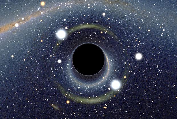 Черная дыра может использоваться в качестве источника энергии