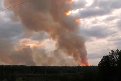 Под Красноярском снова начал взрываться военный арсенал