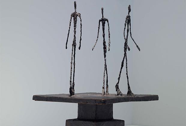 Альберто Джакометти, «Трое идущих» (1948)