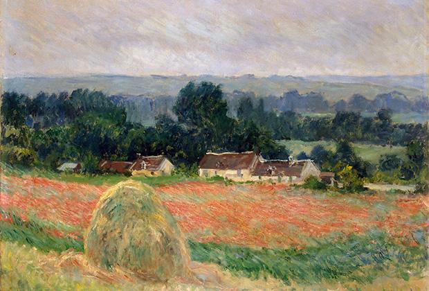 Клод Моне, «Стог сена в Живерни» (1886)
