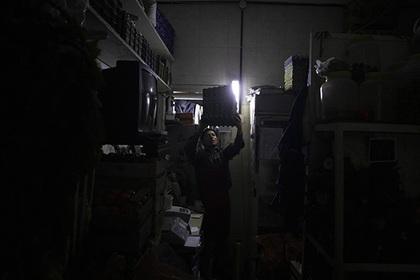 Великобритания осталась без электричества