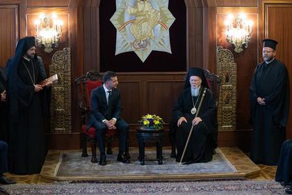 Константинопольский патриарх рассказал о втором крещении Руси