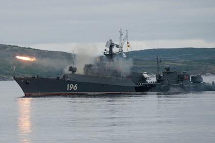 Северный флот начал учения по обнаружению подлодок в Арктике