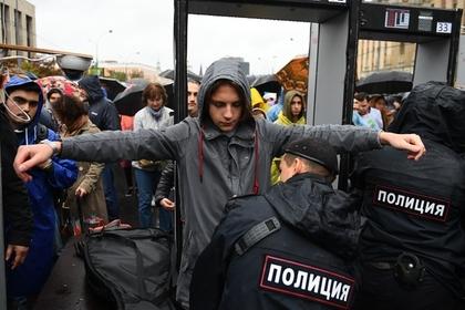 Полиция предупредила о готовящихся на митинге в Москве провокациях