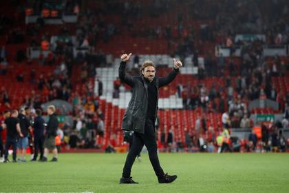 Тренер разгромленной «Ливерпулем» команды нашел позитив в поражении
