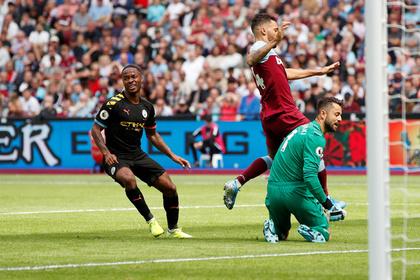 «Манчестер Сити» начал защиту титула чемпиона АПЛ с разгрома «Вест Хэма»