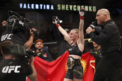 Чемпионка UFC Шевченко снова защитила титул