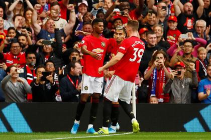 «Манчестер Юнайтед» разгромил «Челси» в центральном матче тура АПЛ