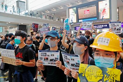 Китай назвал бунтующую оппозицию террористами