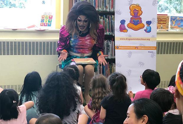 Дрэг-чтения в детской библиотеке